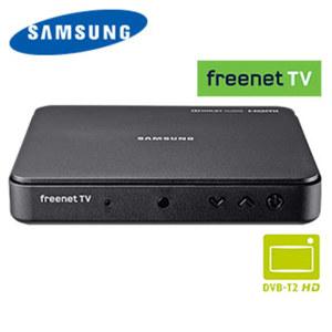 FullHD-DVB-T2-Receiver GX-MB540TL • HbbTV, HEVC/H.265 • bis 1080p möglich, EPG • HDMI-/Scart-/USB-/Ethernet-Anschluss