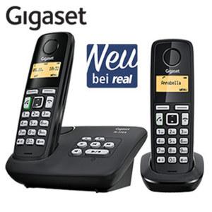 Schnurlos-DECT-Telefon AL225A • Freisprech- und CLIP-Funktion • Telefonbuch für bis zu 80 Einträge • ECO DECT, Standardakkus • digitaler Anrufbeantworter: Aufzeichnung bis zu 25 min