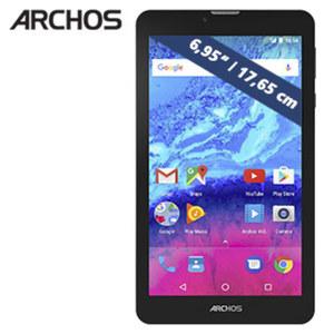 Multimedia-Tablet-PC Core 70 3G mit Quad-Core- Prozessor (4 x 1,3 GHz) inkl. 3G-Funktion • Multitouch-IPS-Display (1280 x 720) • inkl. 3G-Modul für grenzenloses Internet und Telefonie