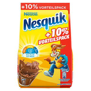 Nesquik Kakaohaltiges Getränkepulver 500 g + 50 g gratis jeder 550-g-Promotion-Nachfüllbeutel