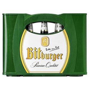 Bitburger versch. Sorten, 20 x 0,5 Liter,   jeder Kasten