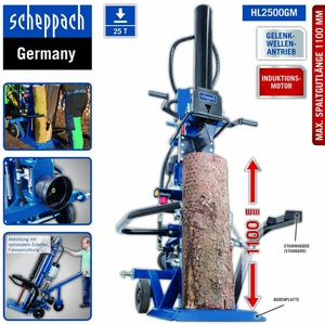 Scheppach Holzspalter HL2500GM