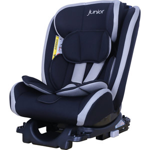 Petex Kindersitz Supreme Plus, Grau/Schwarz