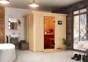 Karibu Sauna mit Fronteinstieg Charlotte