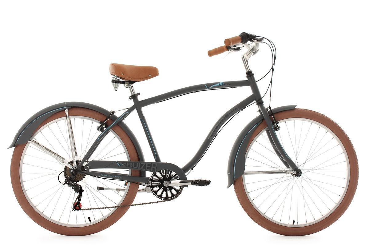 Bild 1 von KS Cycling Beachcruiser 26'' Cruizer anthrazit