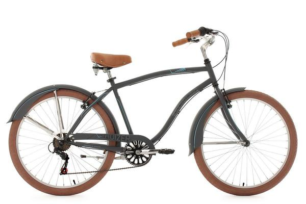 KS Cycling Beachcruiser 26'' Cruizer anthrazit
