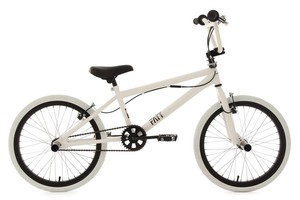KS Cycling BMX Freestyle 20'' Fatt weiß