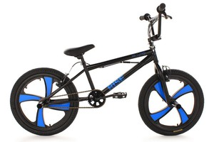 "KS Cycling BMX Freestyle 20"" Rise schwarz"
