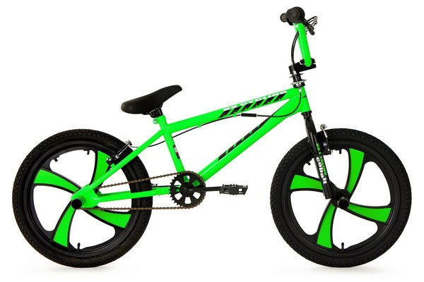 "KS Cycling BMX Freestyle 20"" Cobalt grün"