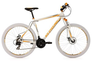 "KS Cycling Mountainbike Fully 26"" Bliss weiß-grün RH 47 cm"