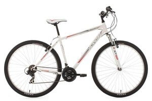 "KS Cycling Mountainbike Twentyniner Hardtail 29"" Icros weiß-rot RH 51 cm"