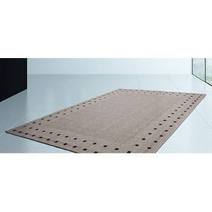 Kayoom Teppich Sweden - Halmstad Silber / Anthrazit 60 cm x 110 cm