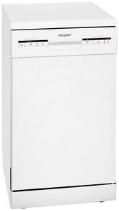 Exquisit GSP 9109.1 weiß Geschirrspüler 45cm
