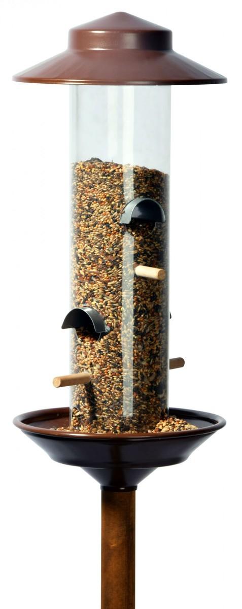 Bild 1 von dobar Futtersäule mit Ständer, bronze