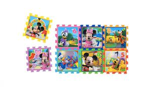 """Knorrtoys Puzzlematte - """"Minnie & Mickey Mouse - Playground""""/ Matten 8/ 8 tlg."""
