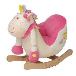 "knorr-baby Schaukelpony 2in1 ""Girl"" mit Soundfunktion"