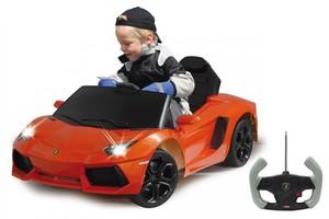 Jamara Ride-on Lamborghini Aventador orange 27MHz 6V
