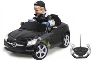 Jamara Ride-on Mercedes SLK schwarz 40MHz 6V