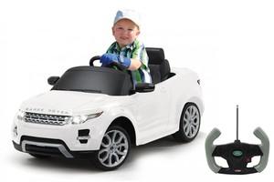Jamara Ride-on Land Rover Evoque weiß 27Mhz 6V