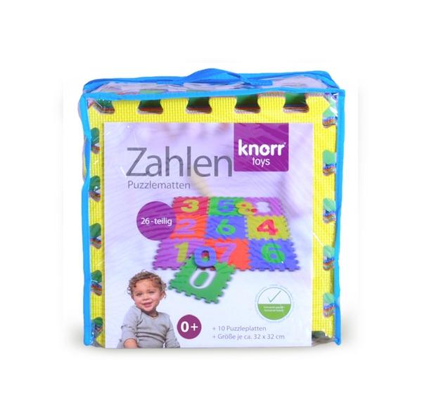 Knorrtoys Puzzlematten Zahlen 0-9 (10 tlg.)