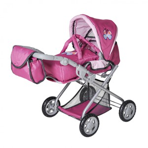 Knorrtoys Puppenkombi Kyra - pink with butterfly