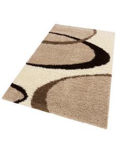 Hochflor-Teppich, »Ankara«, my home, rechteckig, Höhe 52 mm, maschinell gewebt