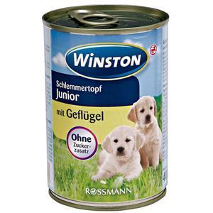 Winston Schlemmertopf Junior mit Geflügel 1.23 EUR/1 kg (12 x 400.00g)