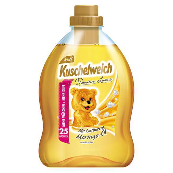 Kuschelweich Premium Luxus Weichspüler 25 WL 0.06 EUR/1 WL