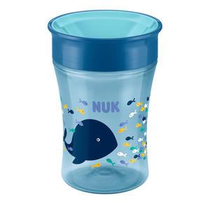 NUK Magic Cup mit Trinkrand, Wal