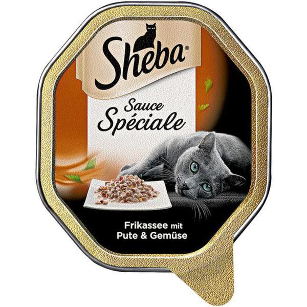 Sheba Sauce Spéciale Frikassee mit Pute & Gemüse 0.58 EUR/100 g (22 x 85.00g)