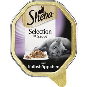Sheba Selection in Sauce mit Kalbshäppchen 0.58 EUR/100 g (22 x 85.00g)