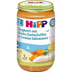 HiPP Menü Spaghetti mit Alaska-Seelachsfilet in Gemüse- 0.54 EUR/100 g (6 x 250.00g)