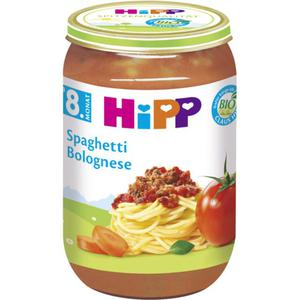 HiPP Bio Menü Spaghetti Bolognese 0.57 EUR/100 g (6 x 220.00g)