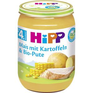HiPP Bio Mais mit Kartoffeln & Bio-Pute 0.50 EUR/100 g (6 x 190.00g)