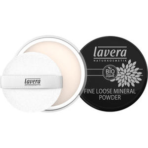lavera FINE LOOSE MINERAL POWDER -Transparent-
