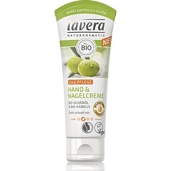 lavera 2in1 Pflege Hand & Nagelcreme 3.99 EUR/100 ml