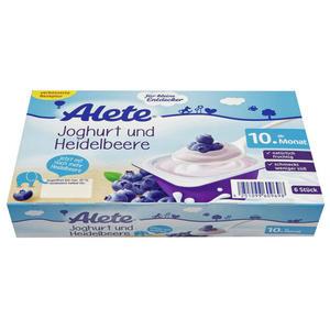 Alete Joghurt & Heidelbeere 6.50 EUR/1 kg