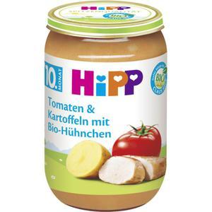 HiPP Bio Menü Tomaten & Kartoffeln mit Bio-Hühnchen 0.57 EUR/100 g (6 x 220.00g)