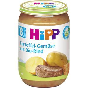 HiPP Bio Menü Kartoffel-Gemüse mit Bio-Rind 0.57 EUR/100 g (6 x 220.00g)