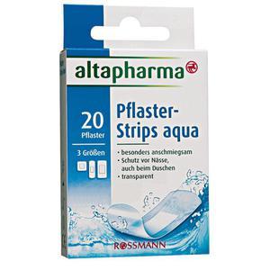 altapharma Pflaster-Strips ´´aqua´´