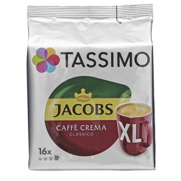 TASSIMO Jacobs Caffè Crema Classico XL 2.78 EUR/100 g