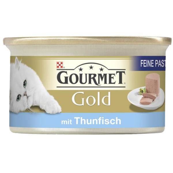 Gourmet Gold Feine Pastete mit Thunfisch 0.58 EUR/100 g (12 x 85.00g)