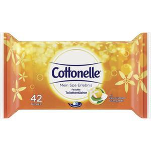 Cottonelle Mein Spa Erlebnis freuchte Toilettentücher