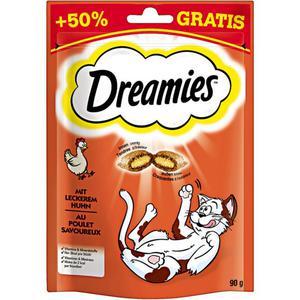 Dreamies mit leckerem Huhn 1.43 EUR/100 g (6 x 90.00g)