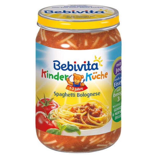 Bebivita KinderKüche Spaghetti Bolognese 0.46 EUR/100 g (6 x 250.00g)