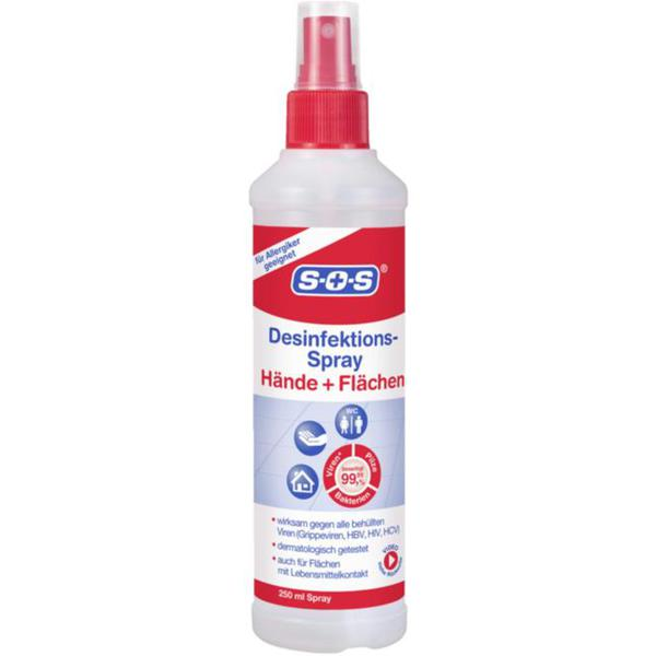 1x 250ml Desinfektion Hygiene Spray Original Rossmann