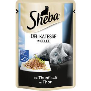 Sheba Delikatesse in Gelee mit Thunfisch 0.58 EUR/100 g (12 x 85.00g)