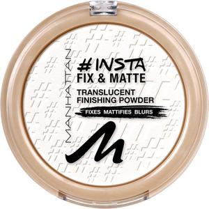 Manhattan Insta Fix & Matte Powder 001 translucent