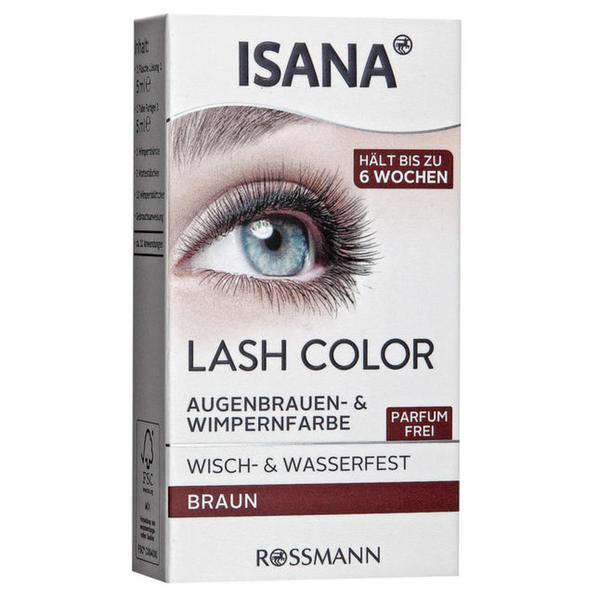ISANA Lash Color Augenbrauen- & Wimpermfarbe Braun
