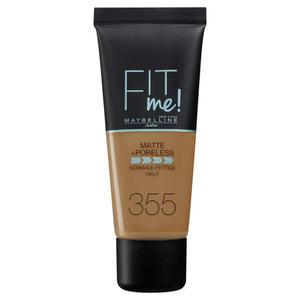 Maybelline New York FIT ME MATTE & PORELESS Pecan 355 23.17 EUR/100 ml